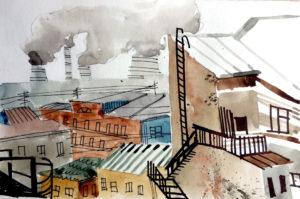Индустриальные крыши