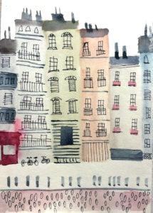 Парижская улочка