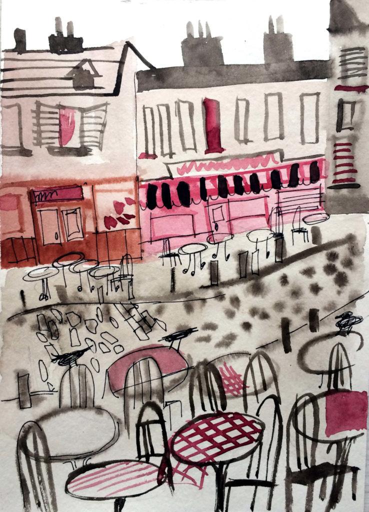 Парижские кафетерии