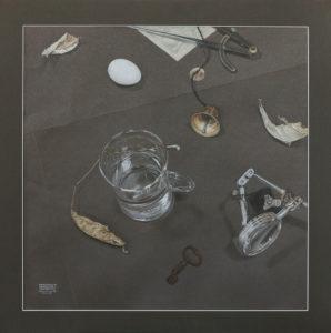 Серый (меланхолический) натюрморт