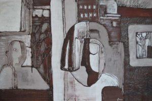 Триптих «Город и человек», центральная часть