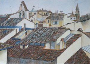 Крыши Флоренции, лист №1