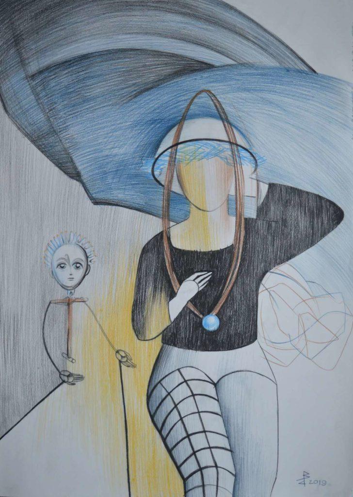 Серия «Фантасмагория», лист №8