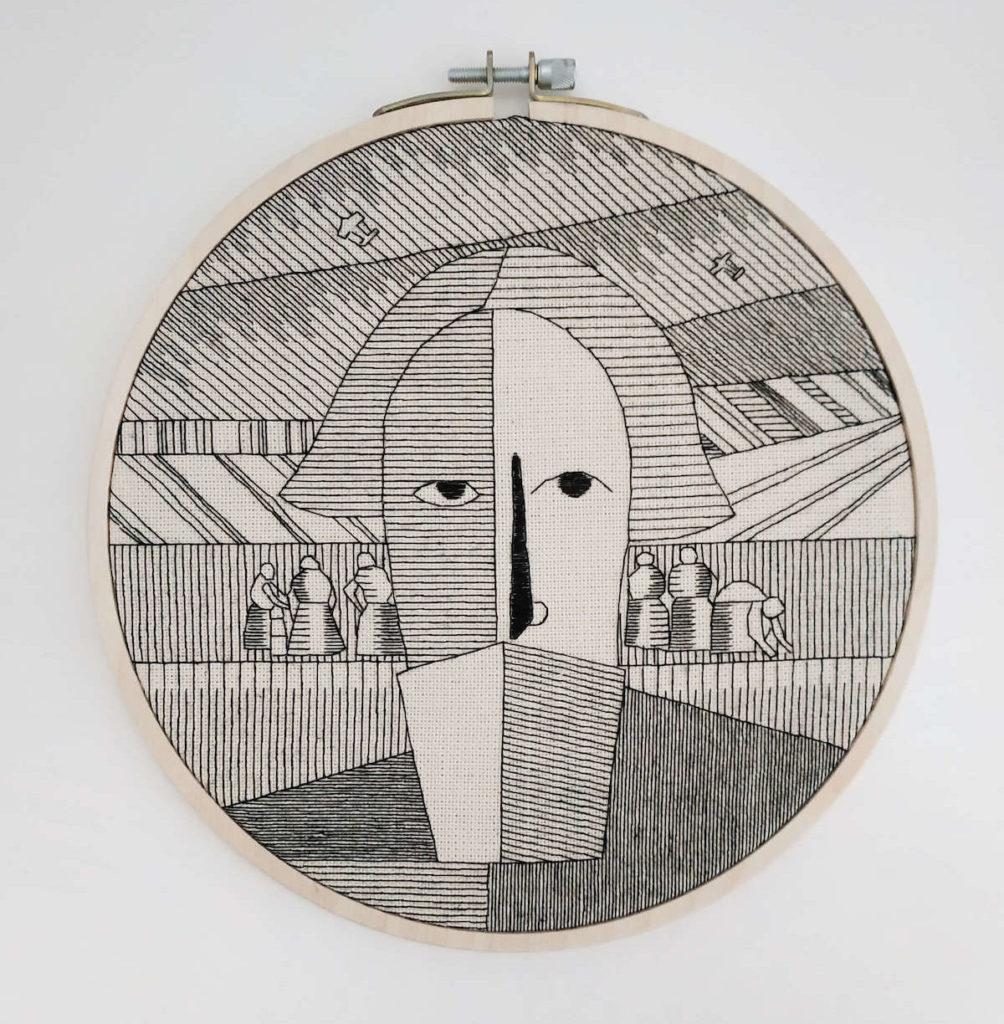 «Голова крестьянина» К. Малевич