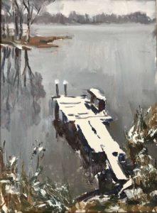 Мостки. Первый снег