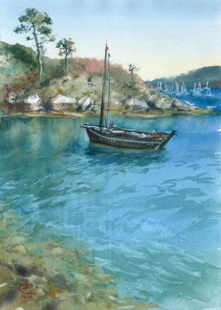 Изумрудные воды Бретани