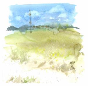 Алтайские степи. Жара