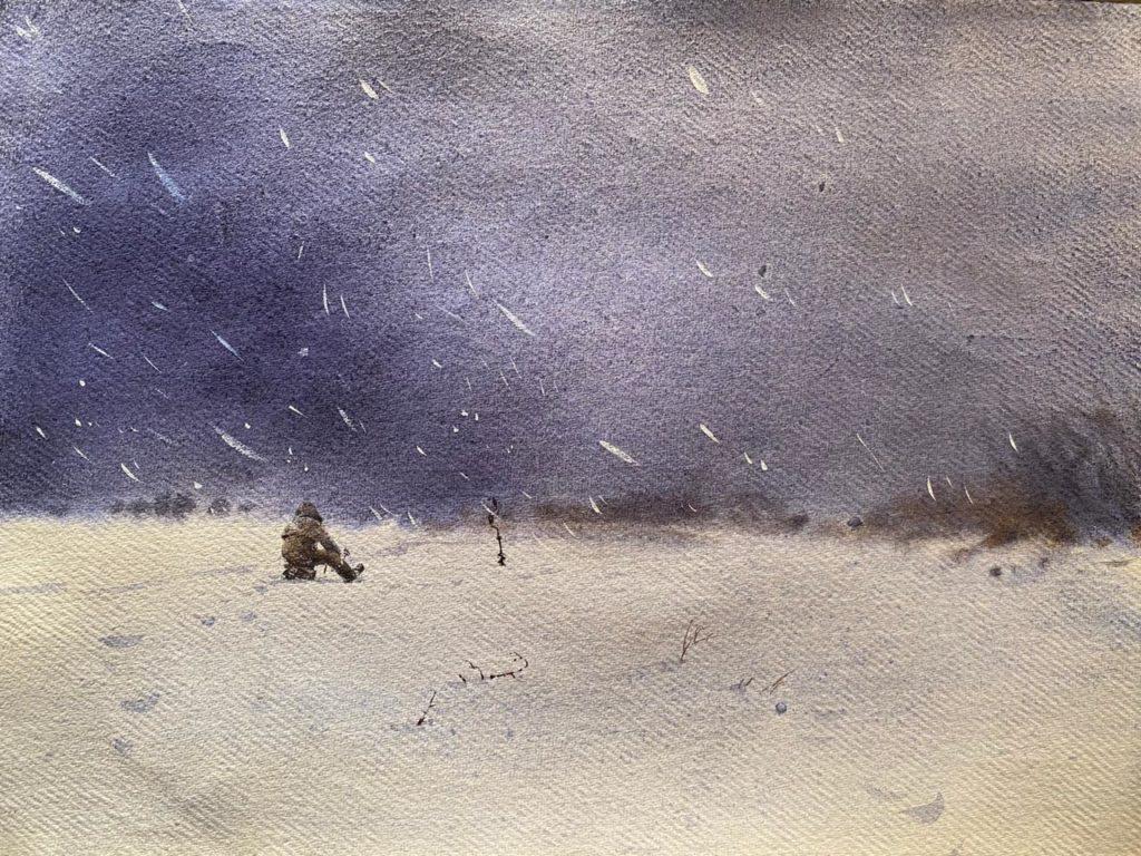 Зимой на Оби