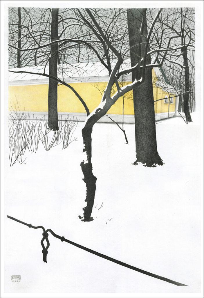 Чувство снега. Лист 2