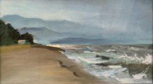 Прибрежные волны Щекветили. Черное море. Грузия