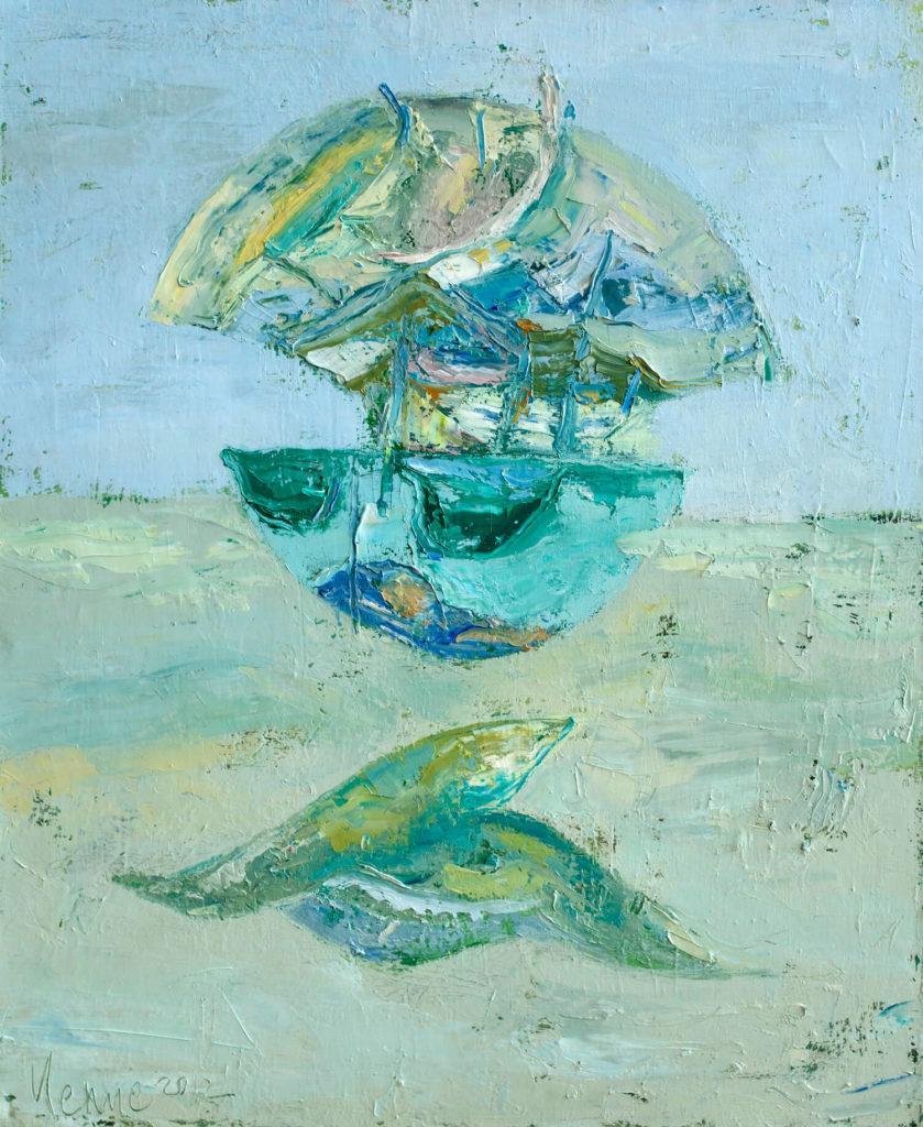 Картина Песчаный пляж