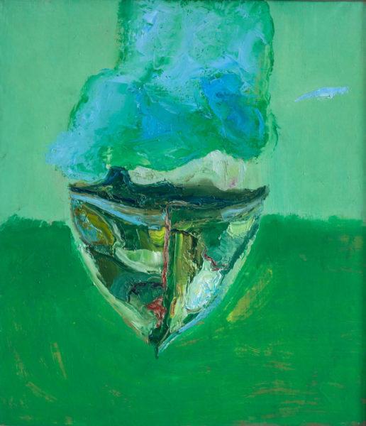 Зеленый кораблик